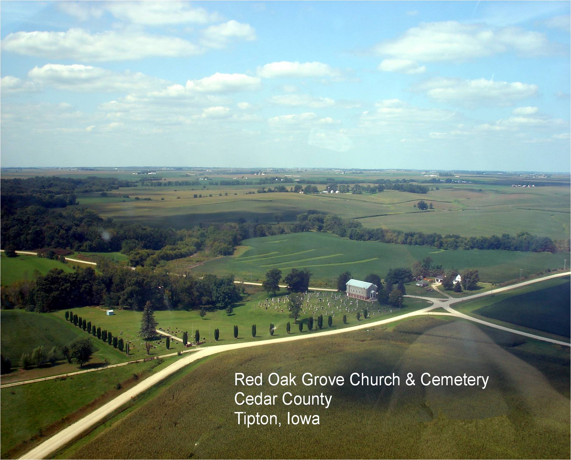 Red Oak Grove CHurch and Cemetery